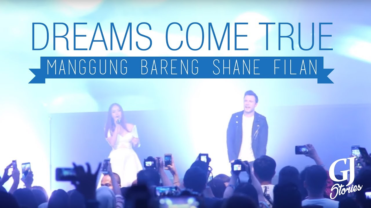 Dreams Come True! Manggung Bareng Shane Filan