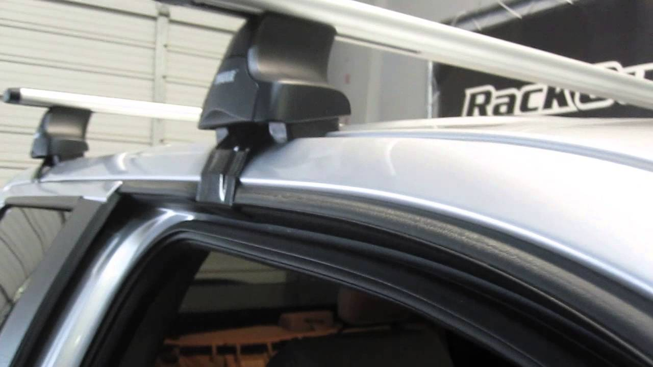 09 13 Ford F 150 4dr Super Crew Thule Rapid Traverse