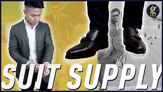 SUITSUPPLY UNBOXING | Havana Blazer & Double Monkstrap Shoes Review