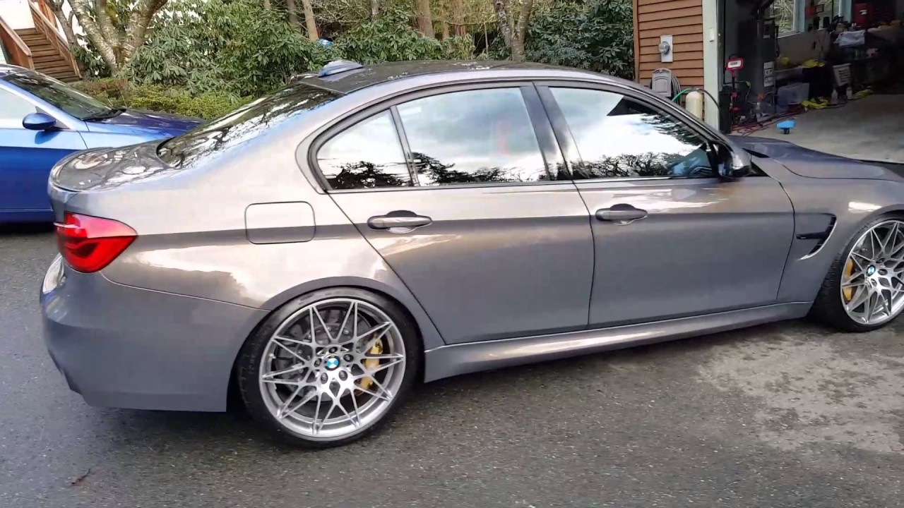 Quot Champagne Quartz Quot Bmw M3 Ceramic Coating Detail Youtube