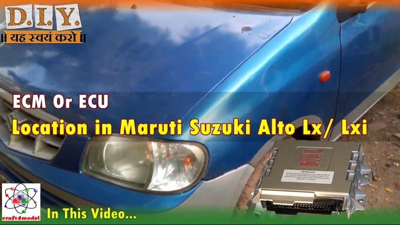 Fuse Box Location Suzuki Alto