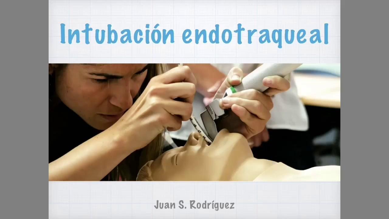 Intubación endotraqueal TEORÍA - YouTube