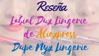 Reseña Labial Dux Lingerie de Aliexpress Tono 10