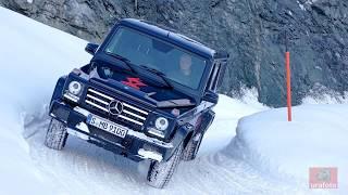 Mercedes AMG G 63 & G 500  - Offroad im Schnee