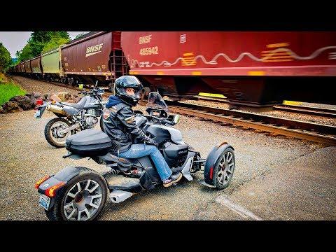 Dual Vlog Train Crossing!! • Ryker Rally & DR Ride! | TheSmoaks Vlog_1330