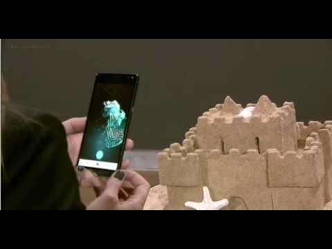 Microsoft Windows 10 Creators Update 3D scanning live demo.