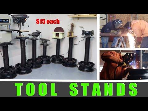 Tool Stands - Miter Saw, Grinder, Vice, Bandsaw, Drill Press, Sander