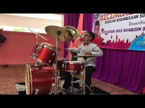 Daniel drummer cover ( intan payung ) hari anugerah
