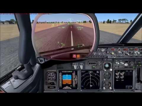 FSX PMDG 737 NGX - Landing at Key West in Full HD