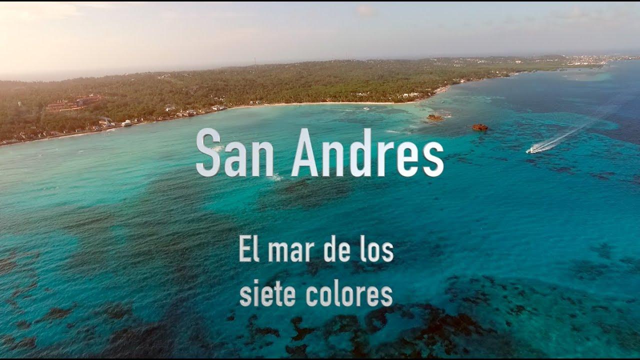 La isla de san andres colombia best aerial view youtube - El colmao de san andres ...