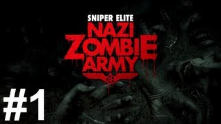 Sniper Elite Nazi Zombie Army Gameplay Walkthrough Part 1 No Commentary
