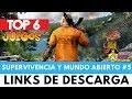 TOP 6 JUEGOS DE SUPERVIVENCIA Y MUNDO ABIERTO #5 | Verox PiviGames