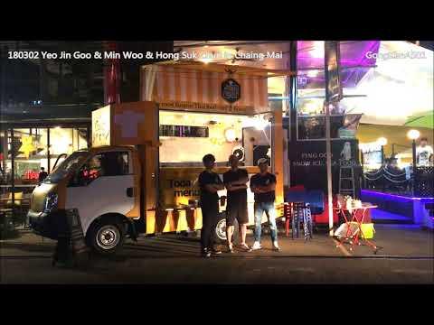 180302 YeoJinGoo LeeMinWoo HongSeokCheon in Chiang Mai for 4 Wheeled Restaurant