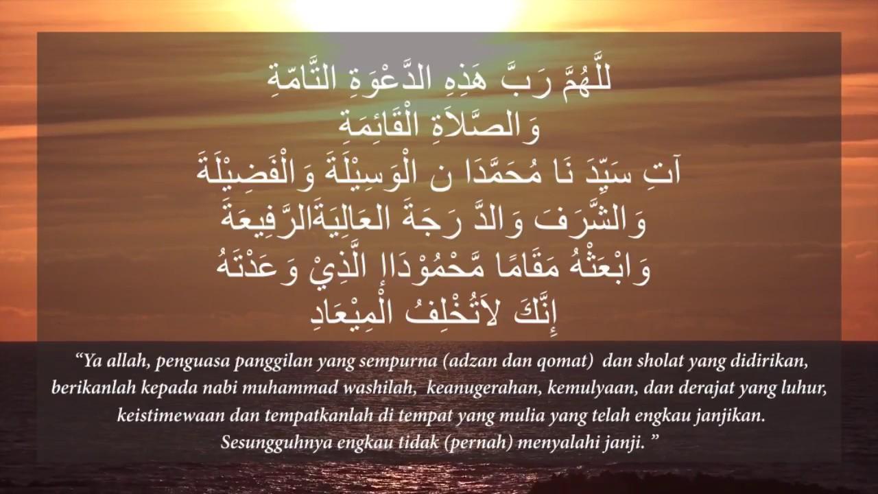 Doa Setelah Adzan Doa Setelah Adzan Dan Artinya Doa Setelah