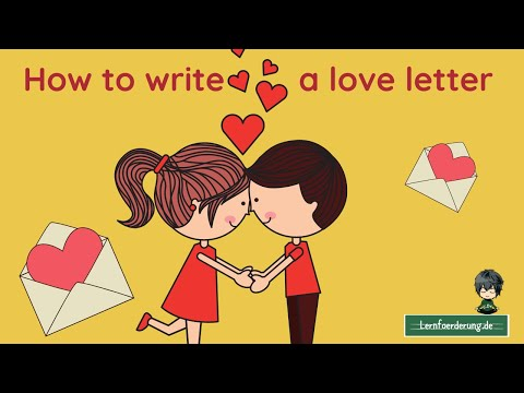 How To Write A Love Letter For Your Sweetheart