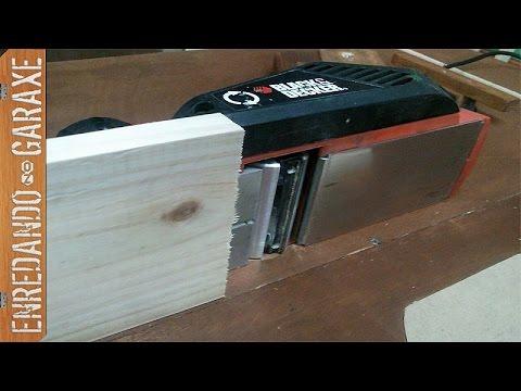 Intentando regruesar tablas m s anchas que el cepillo - Cepillo de carpintero ...