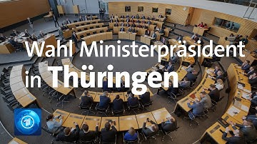 Krimi in Erfurt? Wahl des Thüringer Ministerpräsidenten
