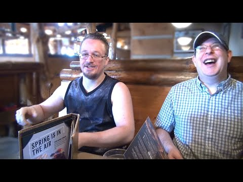 Montana's BBQ Restaurant Belleville Review (with Will And David)