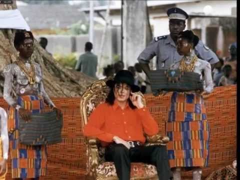 Michael Jackson Coronation - King of the Sanwi's in Krinjabo, Africa 1992