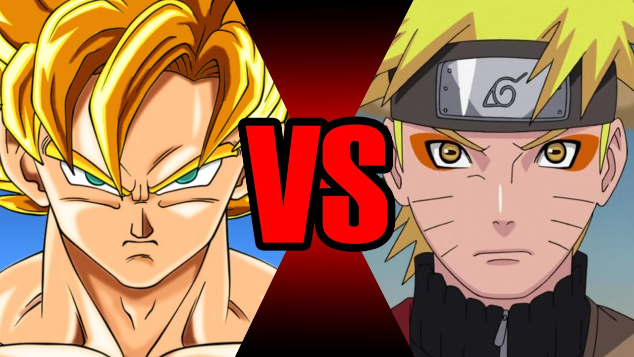 goku vs naruto batalha mortal ei nerd youtube