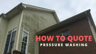 How To Bid Pressure Washing Jobs for Residential
