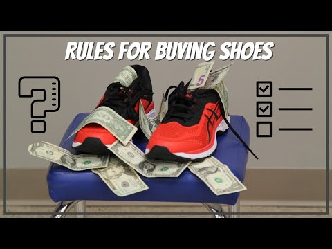 General Rules For Purchasing A Shoe When You Have Plantar Fasciitis