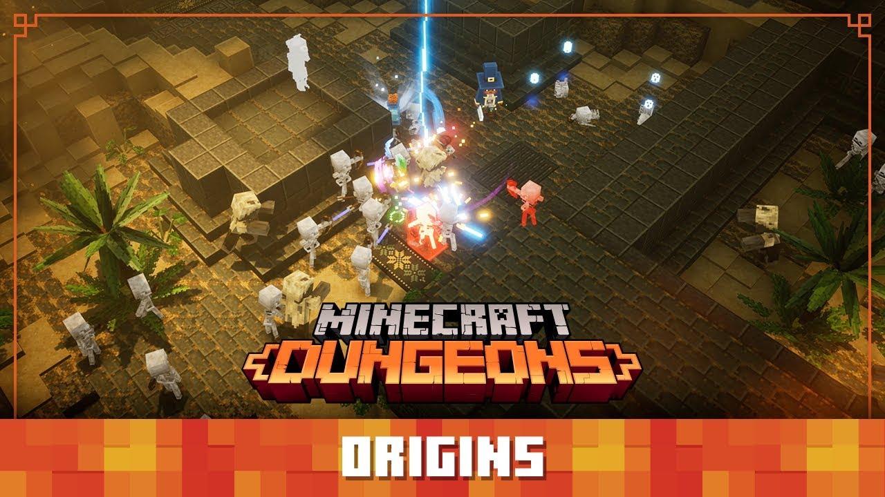 """Νέο βίντεο : """"Minecraft Dungeons Diaries: Origins"""""""