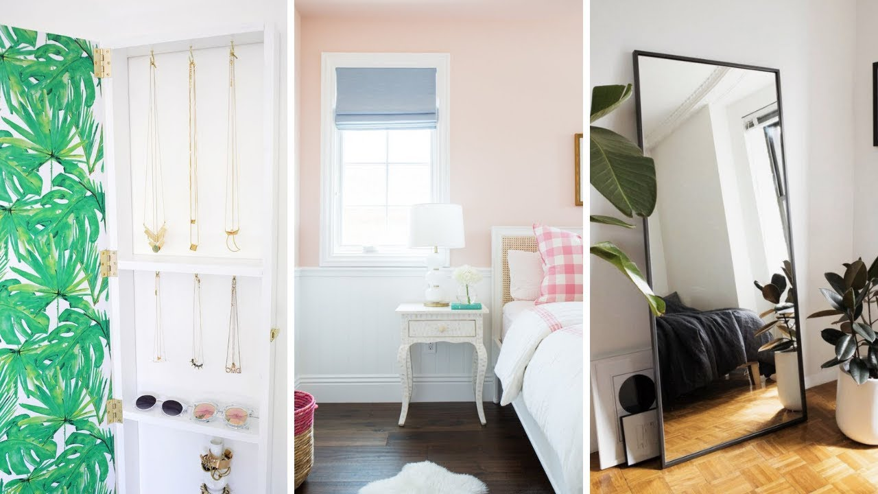 """8 Small Bedroom Renovation & Makeover Ideas that will Make It """"Looks""""  Bigger"""