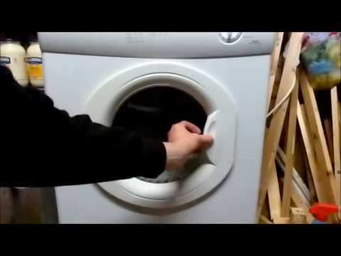 How To Replace A Hotpoint Tumble Dryer Door Catch Youtube
