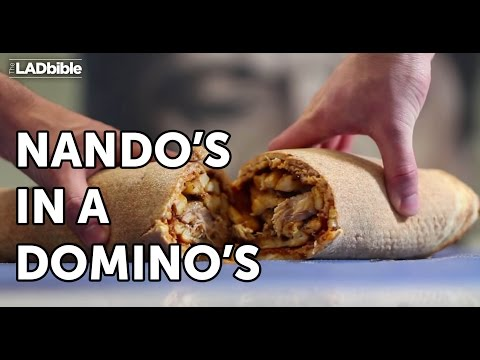 Nando's in a Domino's | Food Hack 02 | The LAD bible