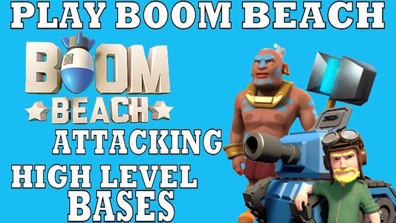 boom beach how to play