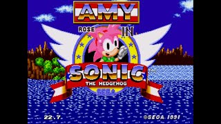 Amy Rose In Sonic 1