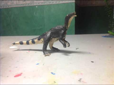 Edmontosaurus Walk Test