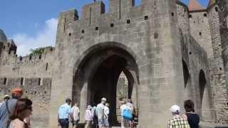 Французский город-крепость Каркассон(Видео сделано специально для туристического сайта http://puteshestvie.net/, 2015-04-12T13:57:17.000Z)