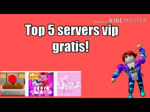 Top 5 Servers Vip Gratis En Roblox 2 Youtube