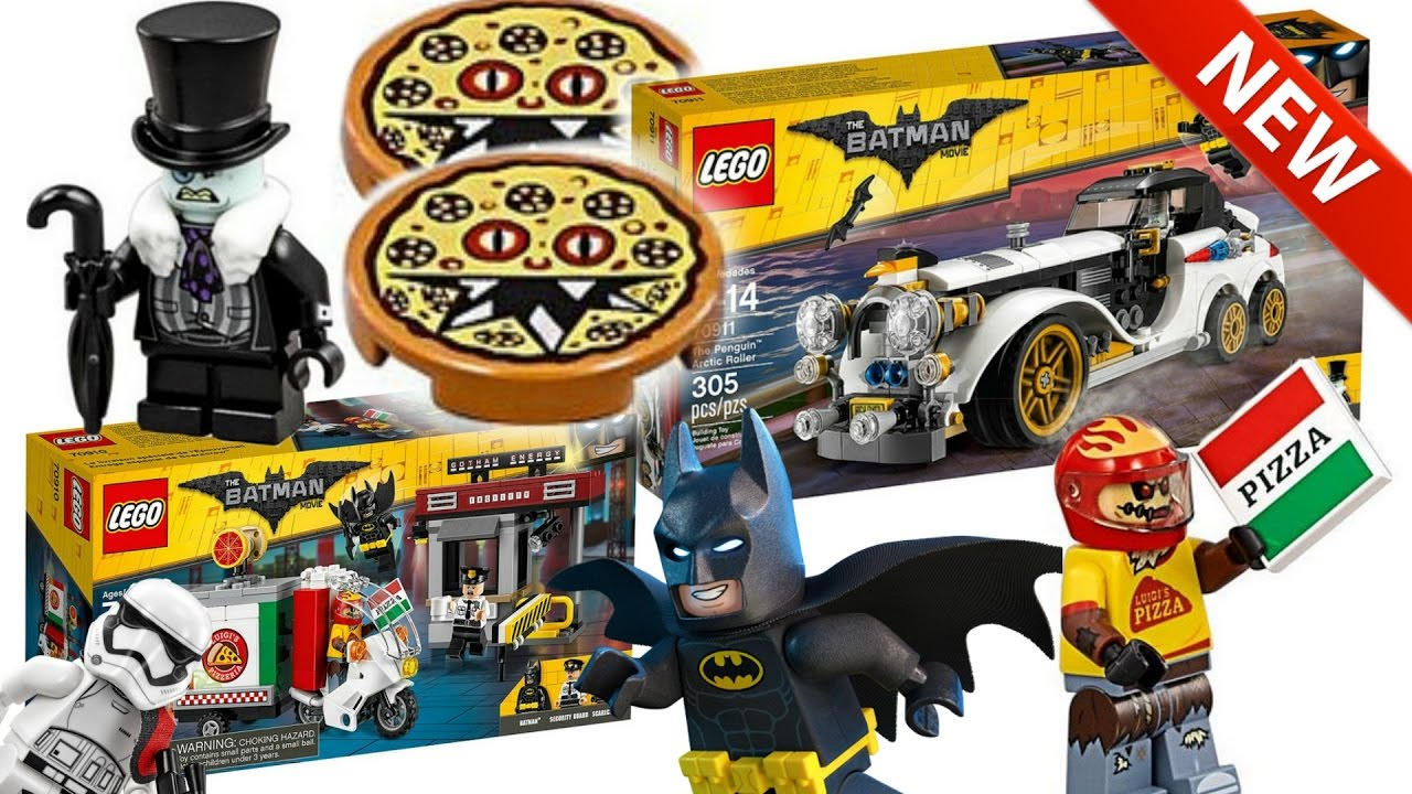 2 New Lego Batman Movie Set Pictures In Hd Penguin Arctic Roller And Scarecrow Special Delivery Youtube