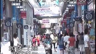 夏の宮崎市街~宮崎駅・橘通り・アーケード街~