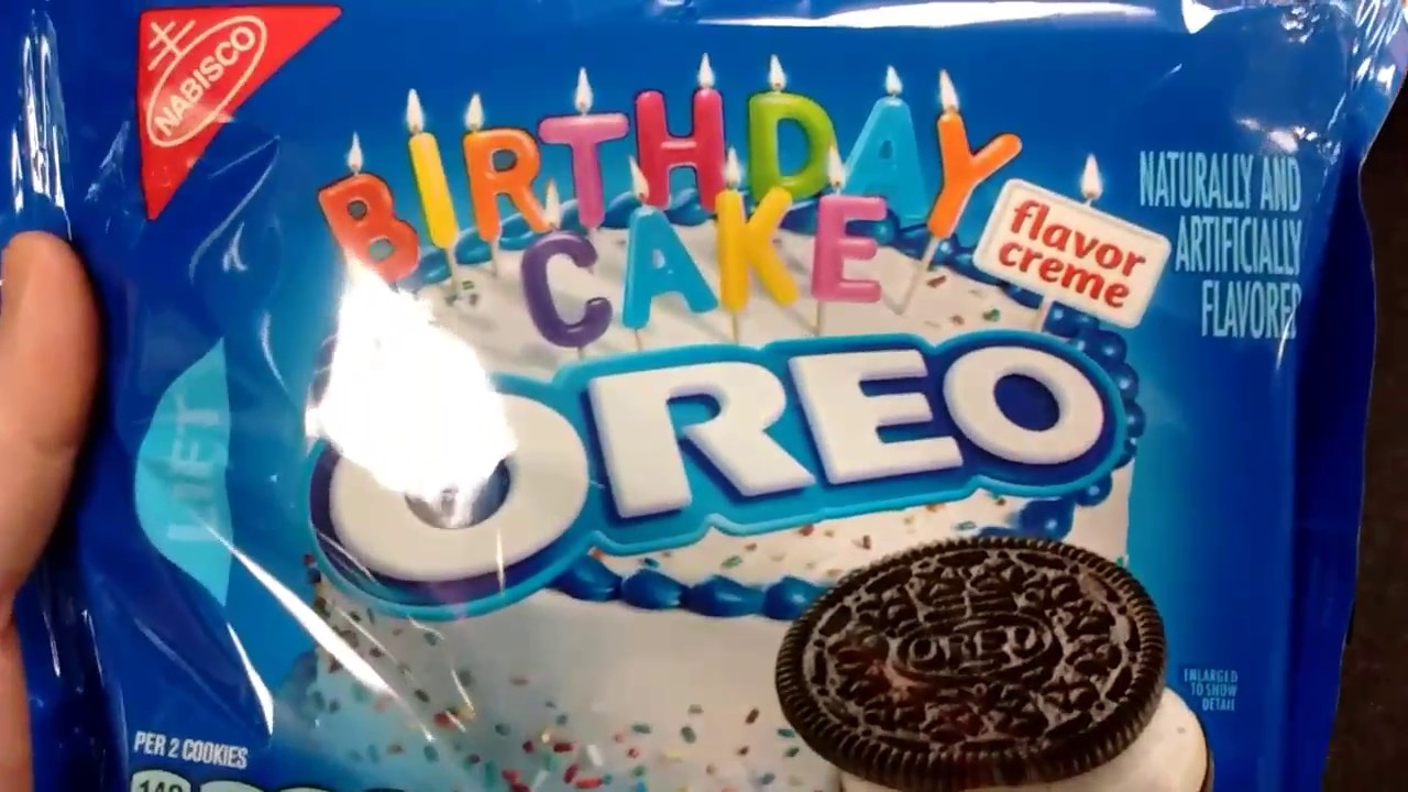 Chocolate sandwich cookies Birthday Cake OREO YouTube
