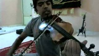 How to play smooth (Indian classical) slides on the violin