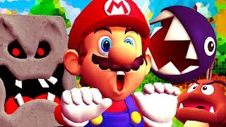 RUN LIKE SONIC... BACKWARDS!   Mario 64 Corrupt Edition #1