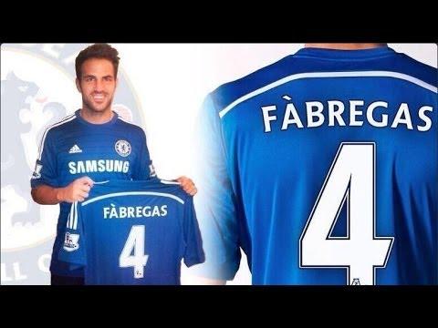 Cesc Fabregas Signs for Chelsea FC