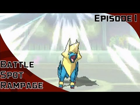 Battle Spot Rampage Episode 1: LETS TRY THIS OUT [Pokemon Sun and Moon Battle Spot: Doubles]
