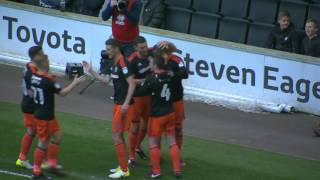 MK Dons 0-3 Blades - match action