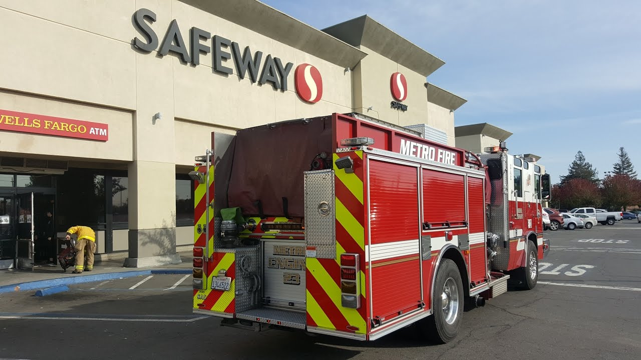 Occupied Grocery Store Arson Fire Foothill Farms