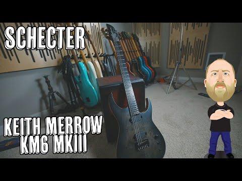 Schecter Keith Merrow KM6 mkIII Artist - Demo