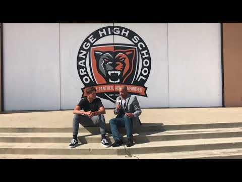 Jason Wilkinson Interview (Part 2) QB Orange HS LIVE HIGH SCHOOL FOOTBALL