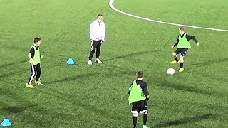 Numbers Passing Drill