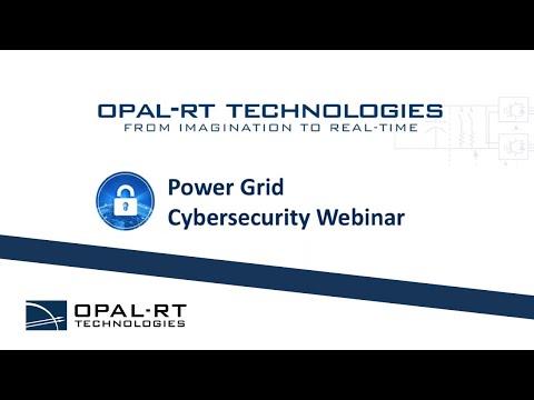 Power Grid Cybersecurity Webinar