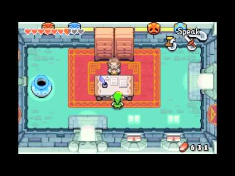 Let's Play TLoZ: The Minish Cap (Part 12) - Impatience In The Library