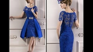 The Royal Blue Dress